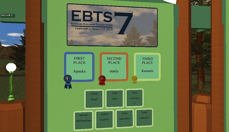 2016 EBTS 7 Contest LZ (Landing Zone)
