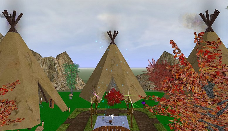SaintlyMic's Native American Indian Camp